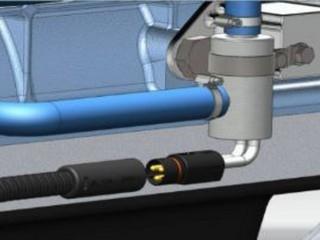 Подключите кабель питания и проверьте работу двигателя и подогревателя